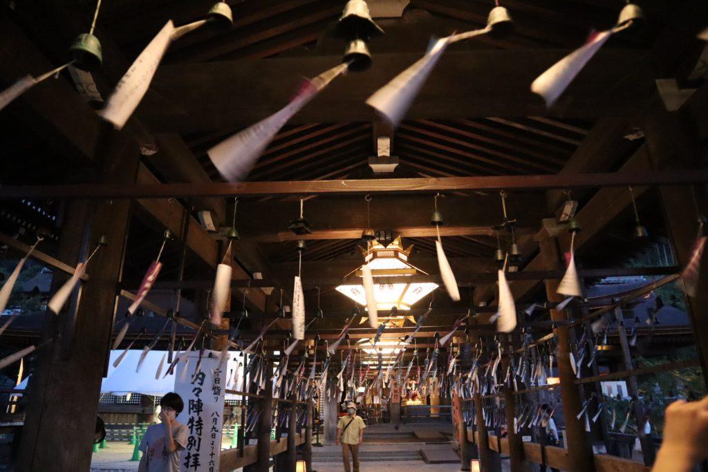 清水寺の回廊