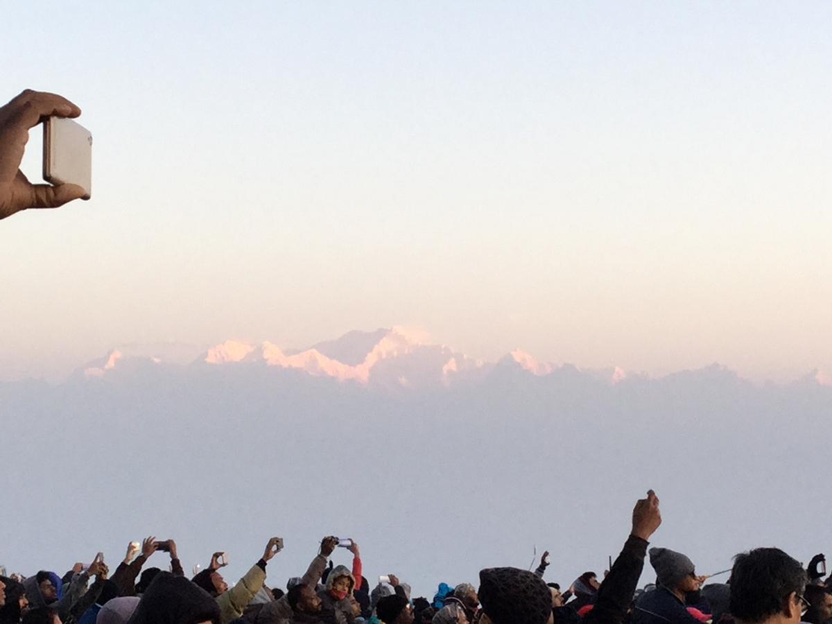 ヒマラヤ山脈の名峰・カンチェンジュンガ